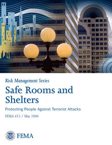 Safe Rooms and Shelters: Protecting People Against Terrorist Attacks