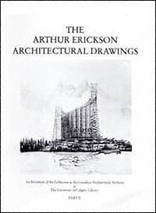 The Arthur Erickson architectural drawings