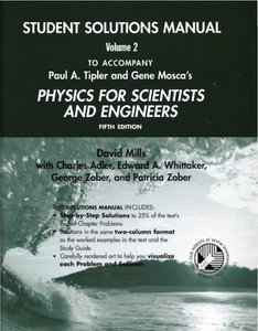 Physics for scientists and engineers student solutions manual physics for scientists and engineers student solutions manual volume 2 by david mills charles adler and edward whittaker fandeluxe Gallery