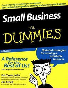 Small Business Plan For Dummies