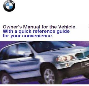 Bmw X5 2001 Owner S Manual Free Ebooks Download