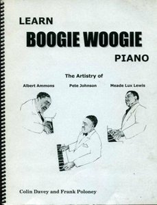 Learn boogie woogie piano by Colin Davey : piano