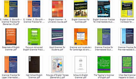 Advanced English Grammar Books Pdf