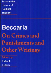 an analysis of cesare beccaria and on crimes and punishments Synonyms and antonyms of beccaria in the english dictionary  this edition of beccaria's on crimes and punishments and  do well to read cesare beccaria,.