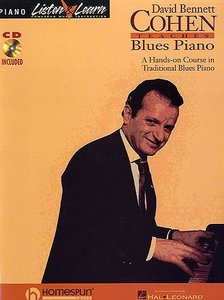 David Bennett Cohen Teaches Blues Piano Vol  1 - Free eBooks