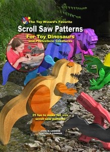 Scroll Saw Patterns For Toy Dinosaurs And Prehistoric Creatures