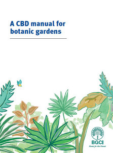 A CBD manual for botanic gardens free download