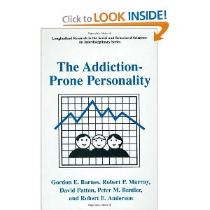 The Addiction-Prone Personality (LONGITUDINAL RESEARCH IN THE SOCIAL AND BEHAVIORAL) free download