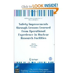 Safety Improvements through Lessons Learned from Operational Experience in Nuclear Research Facilities free download