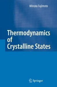 Thermodynamics of Crystalline States free download