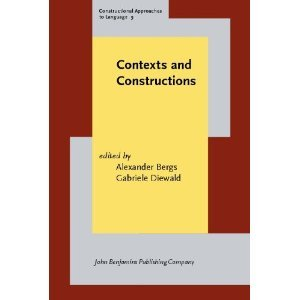 Contexts and Constructions (Constructional Approaches to Language) free download