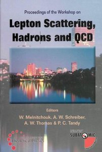 Lepton Scattering, Hadrons and QCD Proceedings free download