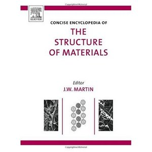 Concise Encyclopedia of the Structure of Materials free download