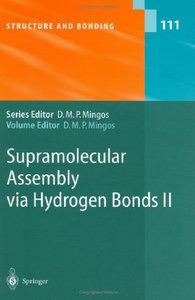 David Michael P. Mingos - Supramolecular Assembly via Hydrogen Bonds II free download