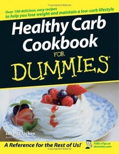 Healthy Carb Cookbook For Dummies free download