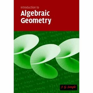 Introduction to Algebraic Geometry free download