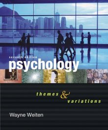 Psychology: Themes and Variations (2007) 7th Edition free download