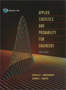 Applied Statistics and Probability for Engineers 3rd edition with Solution free download