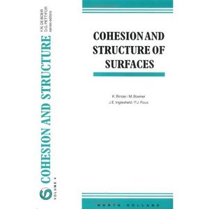 Cohesion and Structure of Surfaces free download