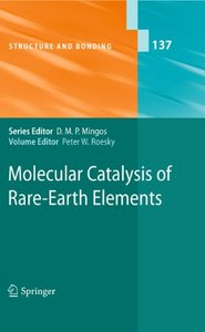 Molecular Catalysis of Rare-Earth Elements free download