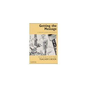 Getting the Message Teacher's guide for all 3 levels free download