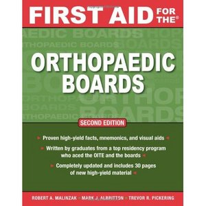 First Aid for the Orthopaedic Boards, Second Edition free download