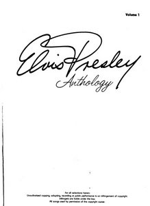 Elvis Presley - Anthology 1 free download