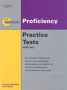 Thomson Exam Essentials: Proficiency Practice Tests: CPE (with Answer Key and Audio CD) free download