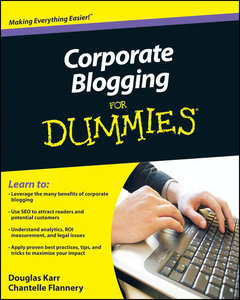 Corporate Blogging for Dummies free download