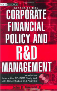 Corporate Financial Policy and R free download
