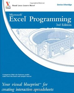 Excel Programming: Your visual blueprint for creating interactive spreadsheets free download