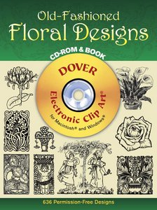 Old-Fashioned Floral Designs CD-ROM and Book free download