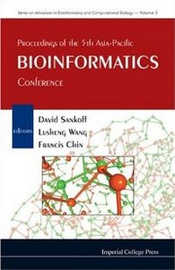 Proceedings of the 5th Asia-Pacific Bioinformatics Conference: Hong Kong 15 - 17 January 2007 free download