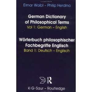 E. Waibl, P. Herdina: German Dictionary of Philosophical Terms free download