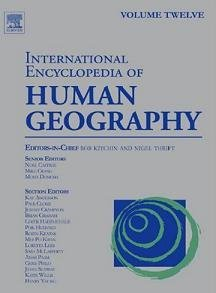 International Encyclopedia of Human Geography: Volume 12 free download