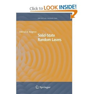 Solid-State Random Lasers free download