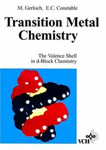 Transition Metal Chemistry: The Valence Shell in D-Block Chemistry free download