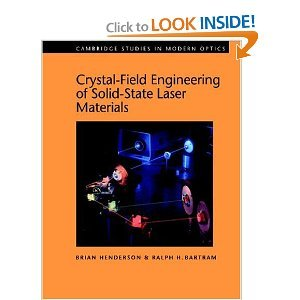 Crystal-Field Engineering of Solid-State Laser Materials free download