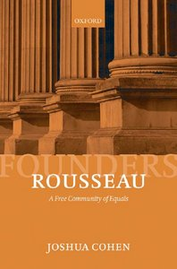 Rousseau: A Free Community of Equals free download