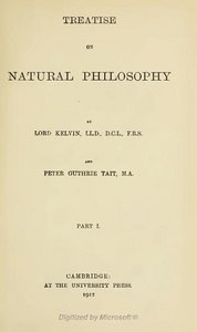 Treatise on Natural Philosophy Part 1, Part 2 free download