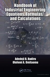 Handbook of Industrial Engineering Calculations and Practice free download