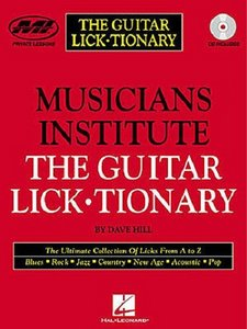 The Guitar Lick-Tionary with CD (Audio) free download