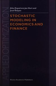 Stochastic Modeling in Economics and Finance free download