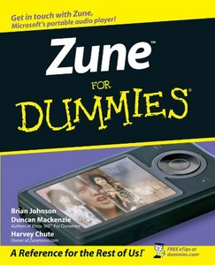 Zune For Dummies free download