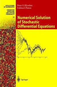 Numerical Solution of Stochastic Differential Equations free download