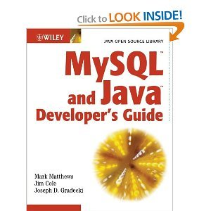 MySQL and Java Developer's Guide free download