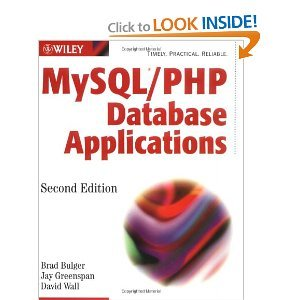 MySQL/PHP Database Applications free download