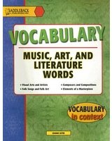 Vocabulary in Context: Music, Art and Literature Words free download