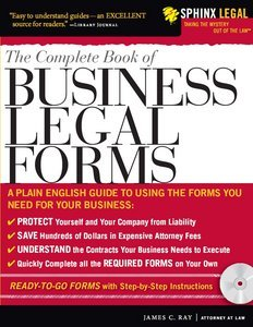 The Complete Book of Business Legal Forms (Legal Survival Guides) free download