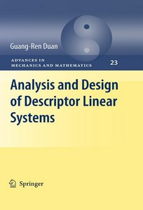 Analysis and Design of Descriptor Linear Systems free download
